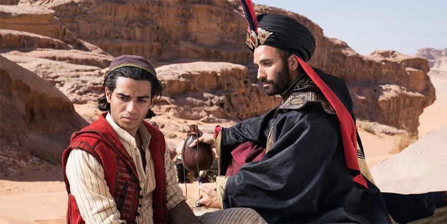 فيلم علاء الدين بنسخته الحديثة م طع م بنكهة مشرقي ة وم ت هم