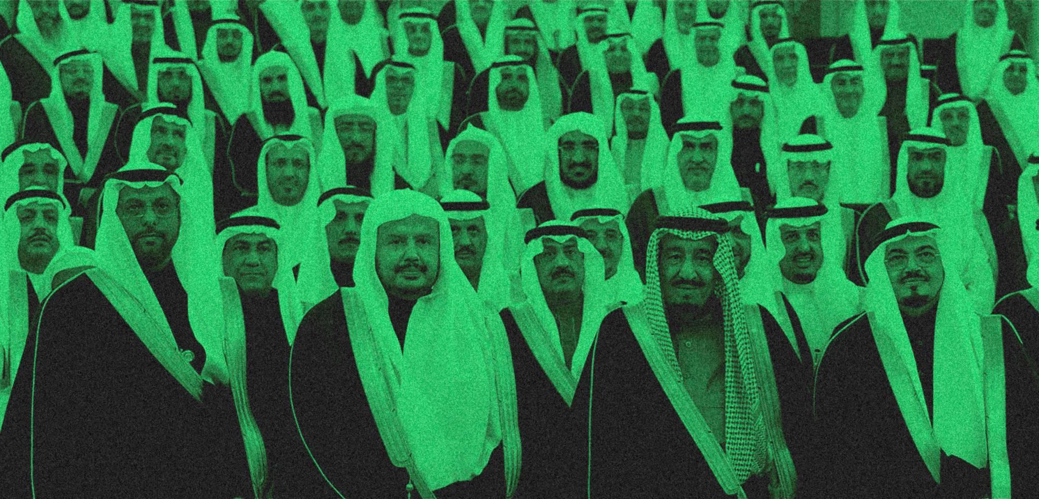كنت حارسا لال سعود