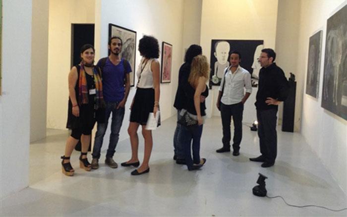 معرض الفن السوري الأول يلجأ إلى بيروت