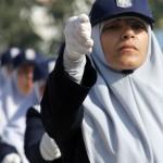 الشرطة النسائية في قطاع غزة