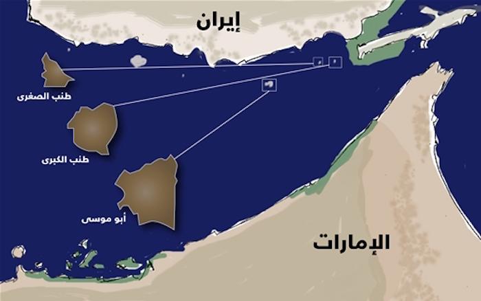 """""""بحر من الدماء"""" يفصل الإمارات عن جزرها"""