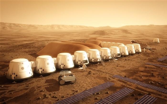 إماراتي إلى المريخ