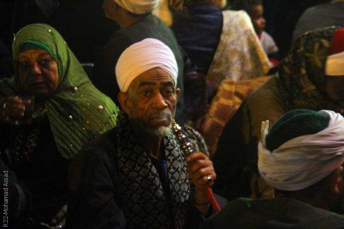 المصريون يحتفلون في ذكرى مولد الحسين - مشهد من الاحتفالات