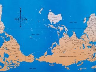 خريطة العالم النرجسية