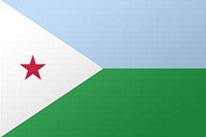 اعلام الدول العربية - علم جيبوتي
