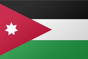 اعلام الدول العربية - الاردن