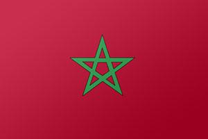 اعلام الدول العربية - علم المغرب