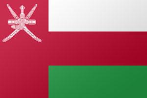 اعلام الدول العربية - علم عمان