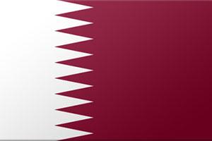 اعلام الدول العربية - علم قطر