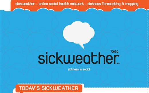 تطبيق Sick Weather، أول رادار لرصد الأمراض
