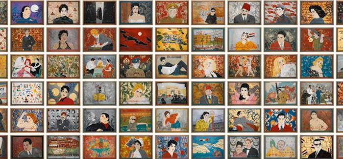 أغلى الأعمال الفنية للفنانين العرب - شانت