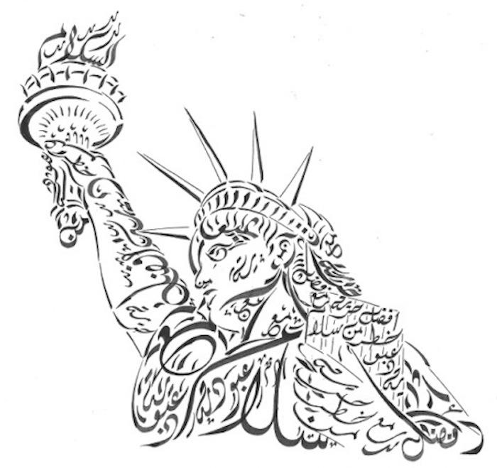 إفرت باربي .. الخط العربي على الطريقة الأمريكية - نارني