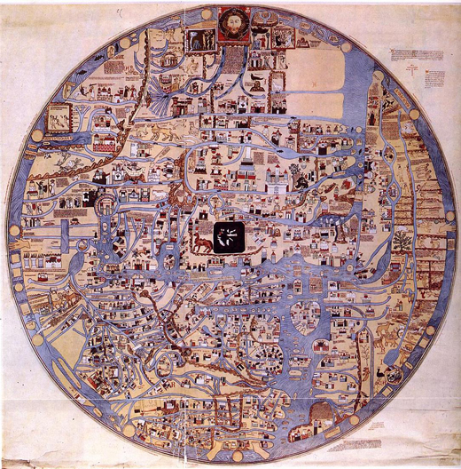 خريطة العالم النرجسية - خريطة العالم مرسومة وفق قواعد نرجسية - صورة 2