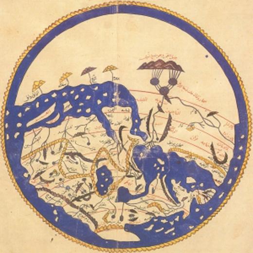 خريطة العالم النرجسية - خريطة العالم مرسومة وفق قواعد نرجسية - صورة 3
