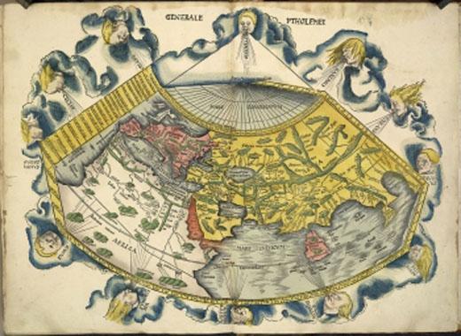 خريطة العالم النرجسية - خريطة العالم مرسومة وفق قواعد نرجسية - صورة 4