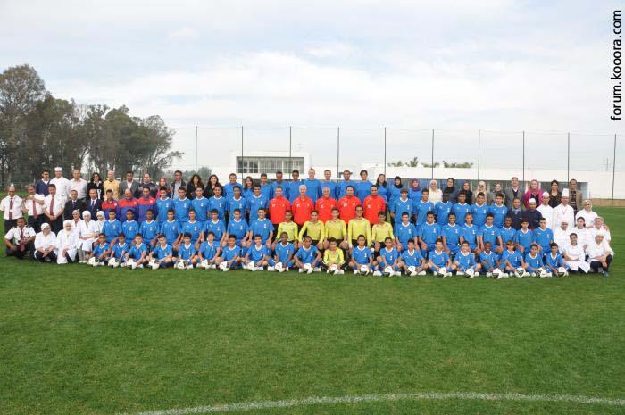 أبرز أكاديميات كرة القدم في العالم العربي - أكاديمية محمد الخامس