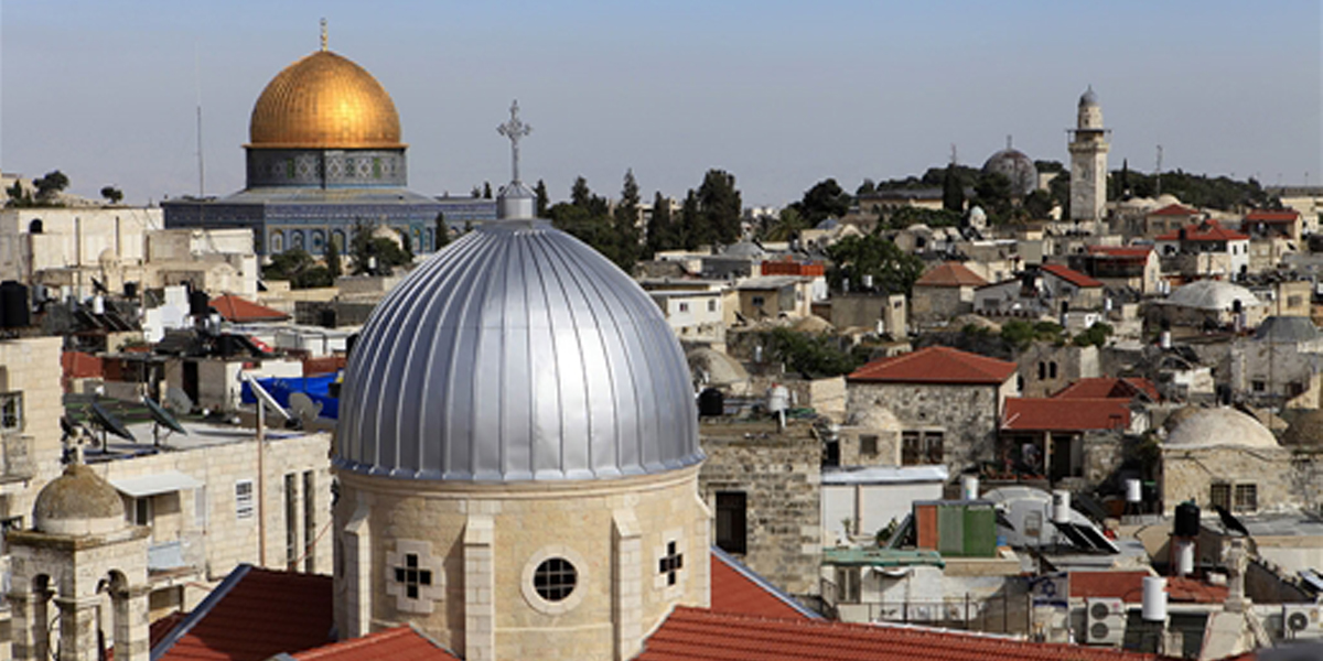 لا تستطيعون زيارة القدس، رصيف22 تجلبها إليكم