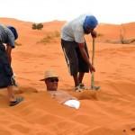 مدينة مرزوكة: عيادة مغربية للعلاج بالرمال