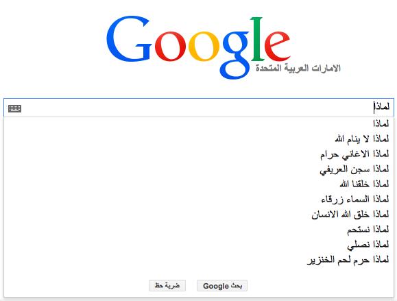 عن ماذا يسأل العرب محرك البحث Google؟ 11 1/2/2015 - 1:35 ص