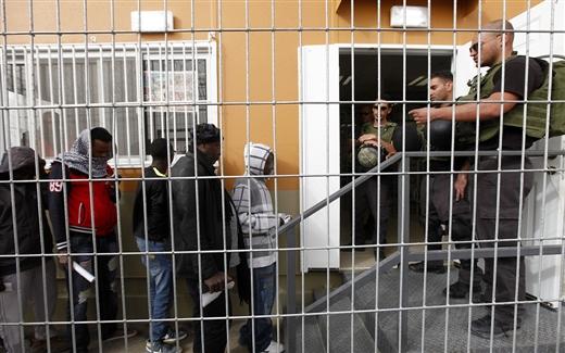 الباحثون عن اللجوء في إسرائيل