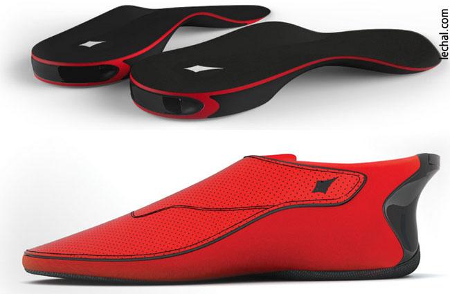 أجهزة ذكية يمكن ارتداؤها - الحذاء الذكي