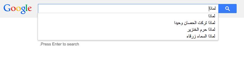 عن ماذا يسأل العرب محرك البحث Google؟ 6 1/2/2015 - 1:35 ص