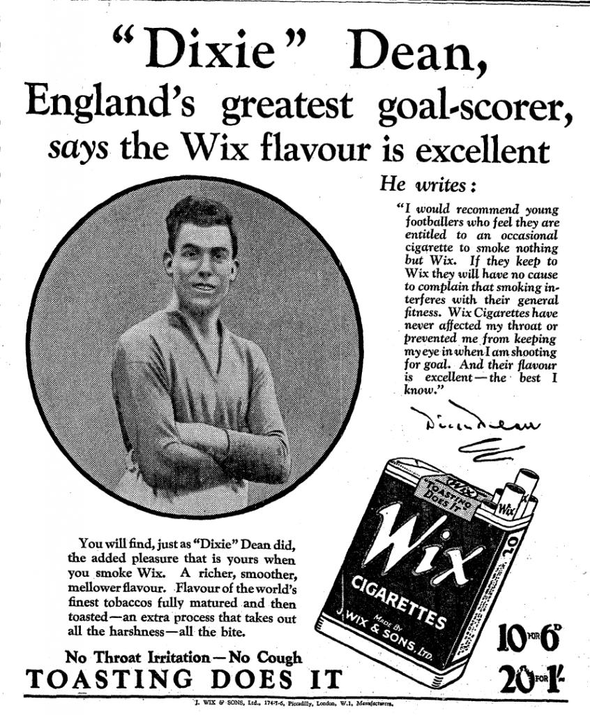Dixie-dean-wix-cigarettes