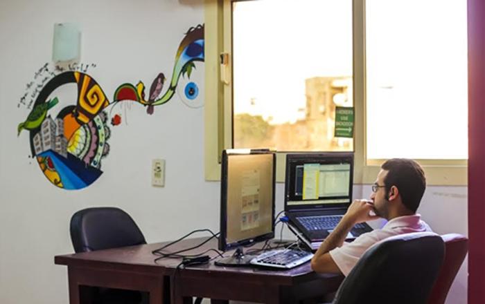 """""""المنطقة""""، نموذج عن مساحات العمل المشتركة في القاهرة"""