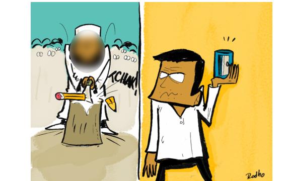 ابرز رسامي الكاريكاتير العرب - جابر مجري