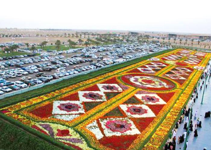 ارقام السعودية القياسية - السعودية في موسوعة غينيس - سجادة من الورد