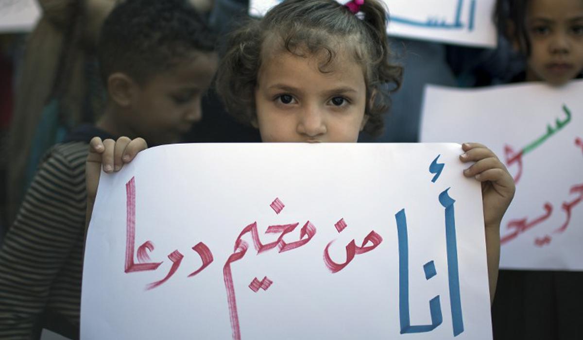 سوريون يبحثون عن الأمان في غزة