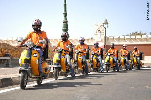 مشروع مشاوير في مصر .. الزحام يجعلك مليونيراً