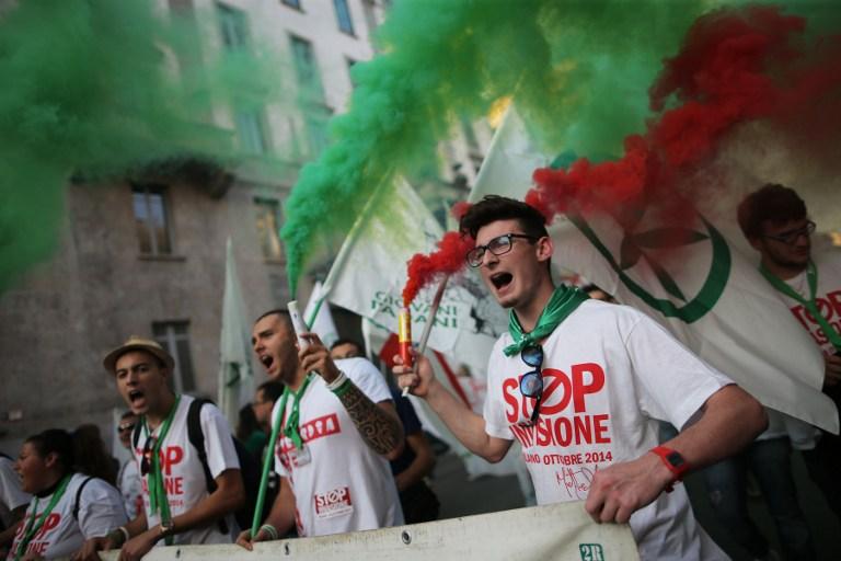 اليمين الأوروبي المتطرف في ايطاليا