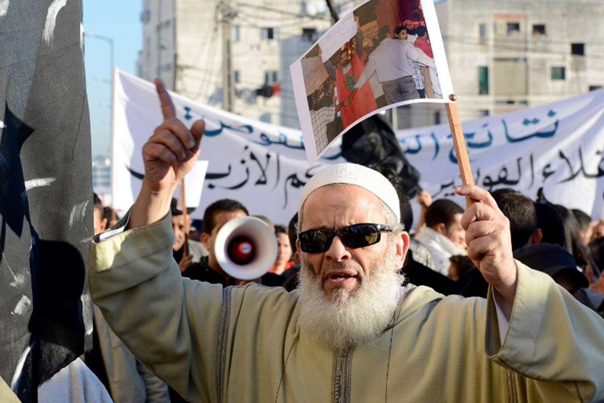 جماعة العدل والإحسان تتحدّى السلطة المغربية