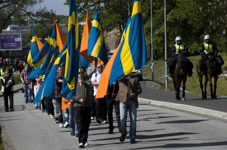 اليمين الأوروبي المتطرف في السويد