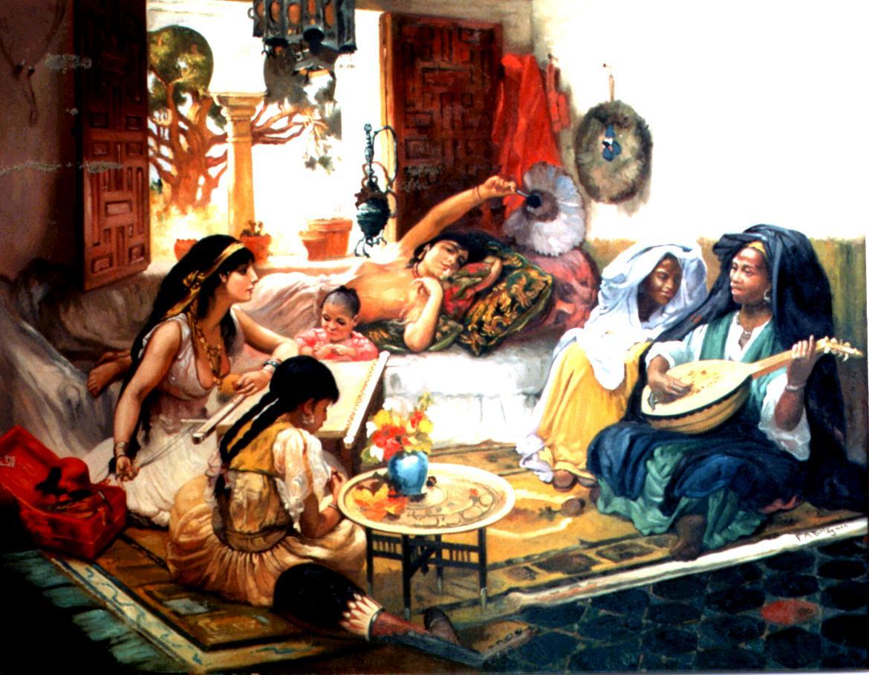 الخيال الجنسي عند العرب منذ ما قبل الإسلام حتى العصر الحديث