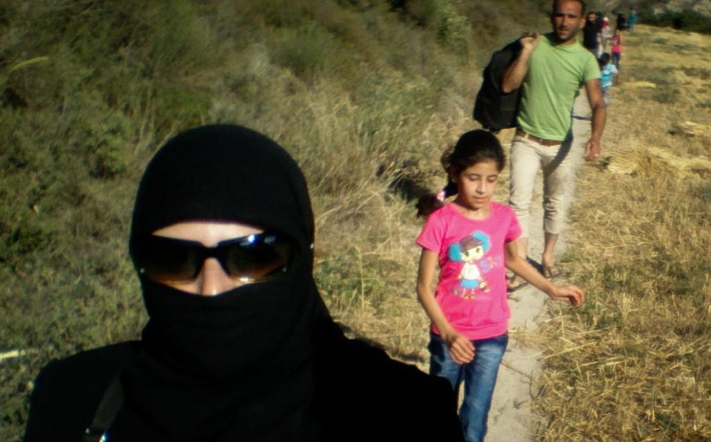 التهريب من سوريا إلى تركيا - عائلة مهاجرة