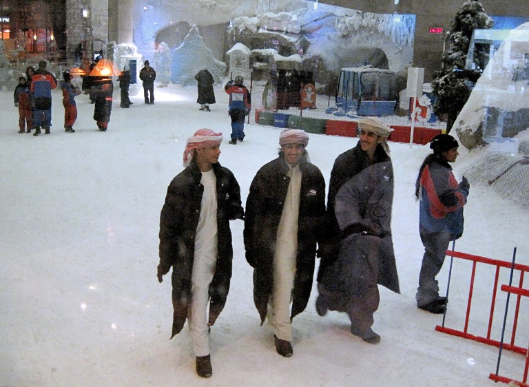 ارقام قياسية عربية في موسوعة غينيس الإمارات - اكبر منتجع داخلي