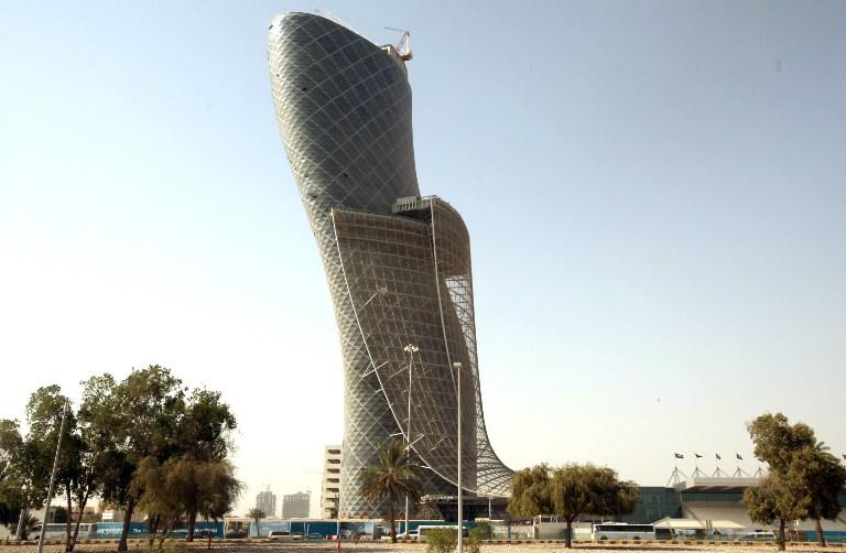 ارقام قياسية عربية في موسوعة غينيس الإمارات - اطول برج مائل