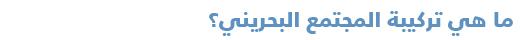 دليل مبسّط للتعرف على السياسة في البحرين - تركيبة المجتمع