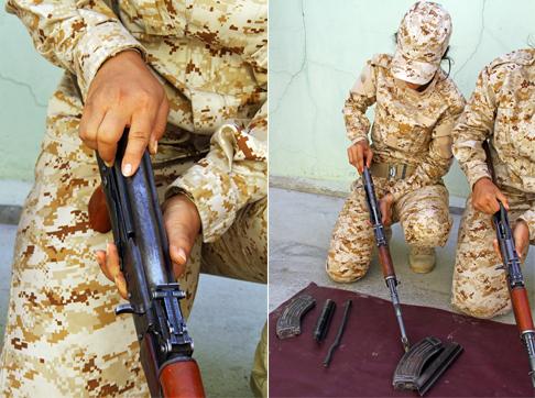 مقاتلات البشمركة في كردستان العراق - صورة 2