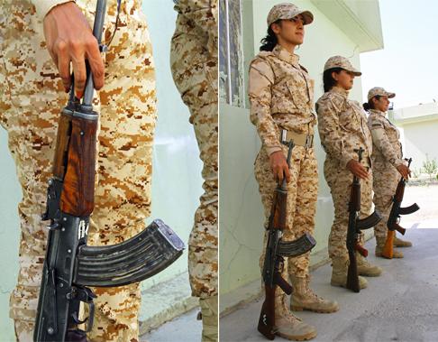 مقاتلات البشمركة في كردستان العراق - صورة 3