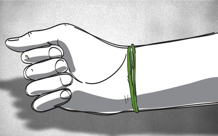 رموز الانتماءات الدينية في العالم العربي - الشريطة الخضراء