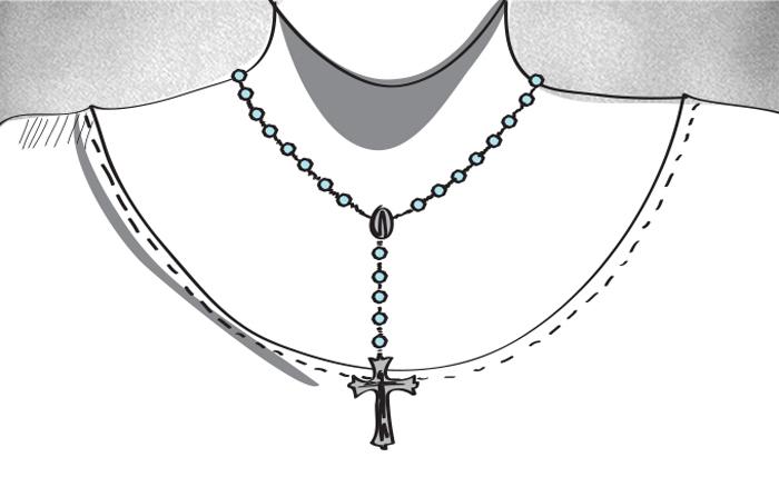 رموز الانتماءات الدينية في العالم العربي - الكاثوليكية