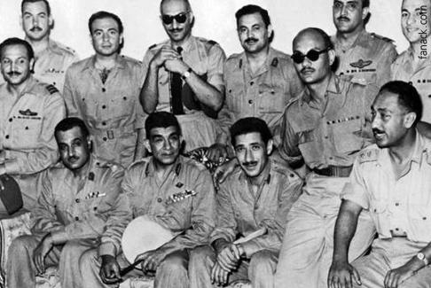 أهم الانقلابات في العالم العربي - انقلاب الضباط الاحرار