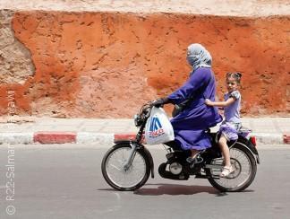 مراكش، مدينة سائقات الدراجات النارية