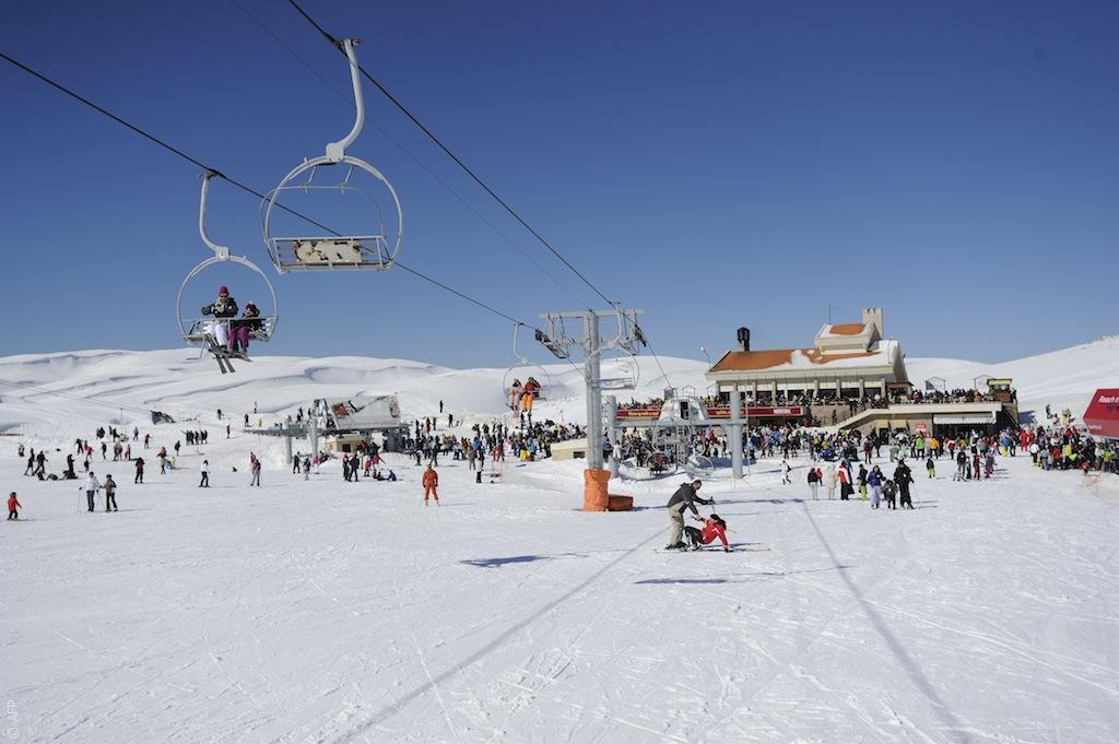 أهم الأماكن للتزلّج في المنطقة