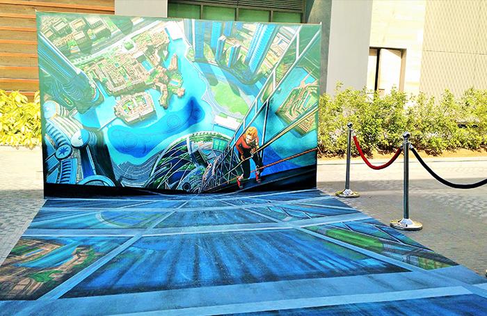 مهرجان للفن الثلاثي الأبعاد في الشرق الأوسط - 3D art fest B
