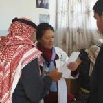 """""""ماما منيرة""""، 70 عاماً، عميدة القابلات الأردنيات"""