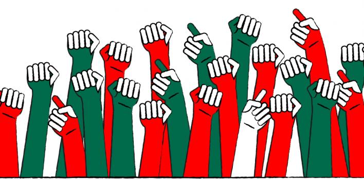 شعارات سياسية على السوريين تجاوزها